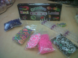 KEEP CALM AND LOOM ON